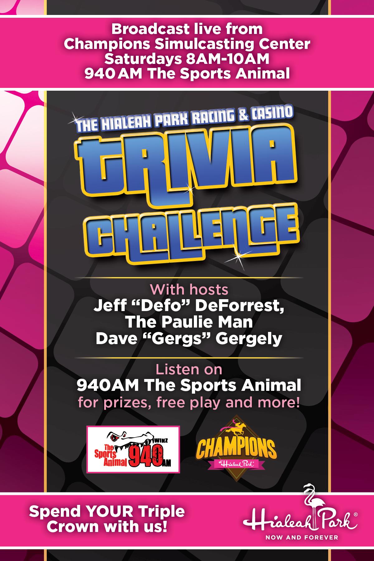 Take the 940 WINZ Trivia Challenge! - MutComm com